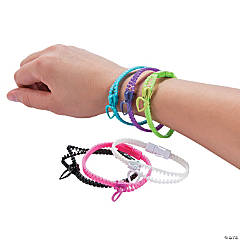 Heart Zipper Bracelets