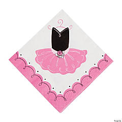 Little Ballerina Luncheon Napkins