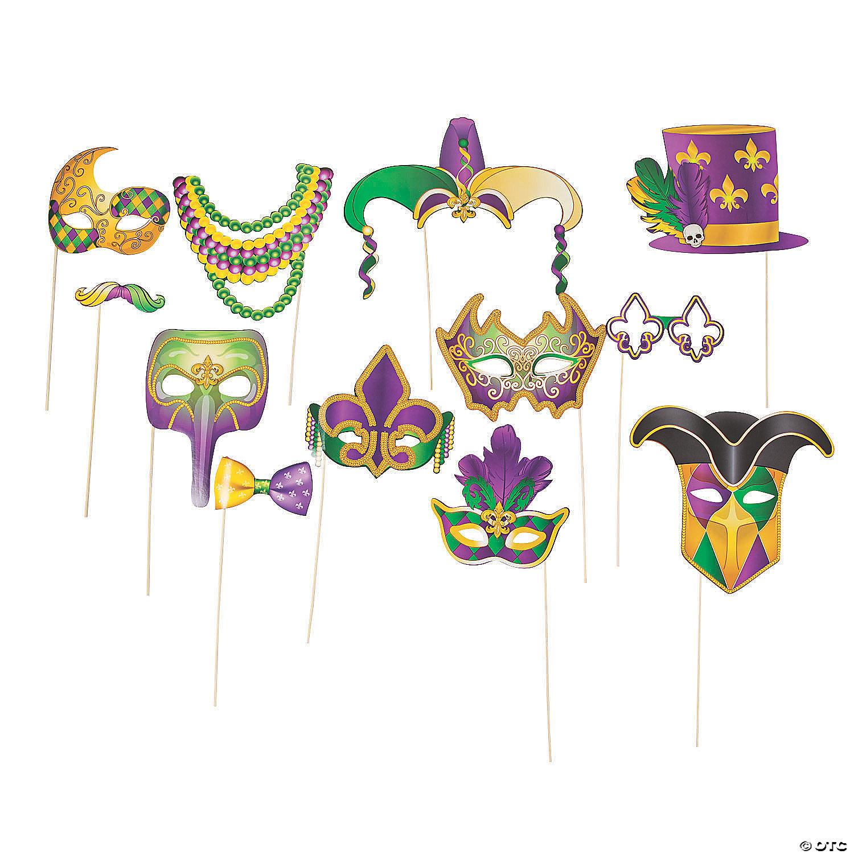 Mardi Gras Stick Costume Props Oriental Trading