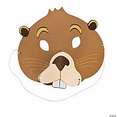 Child's Groundhog Masks