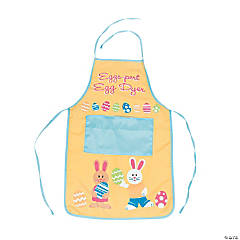 Child's Easter Bunny Apron