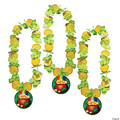 Polyester St. Pat's Pot of Gold Leis