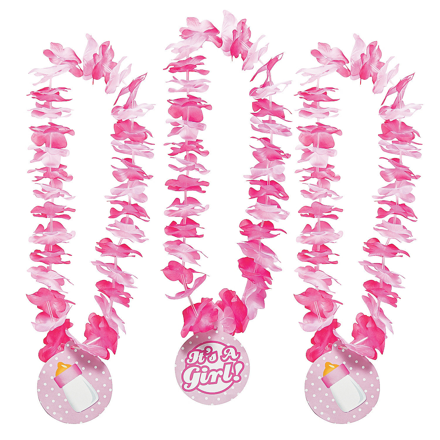 it s a girl baby shower leis hawaiian leis costume