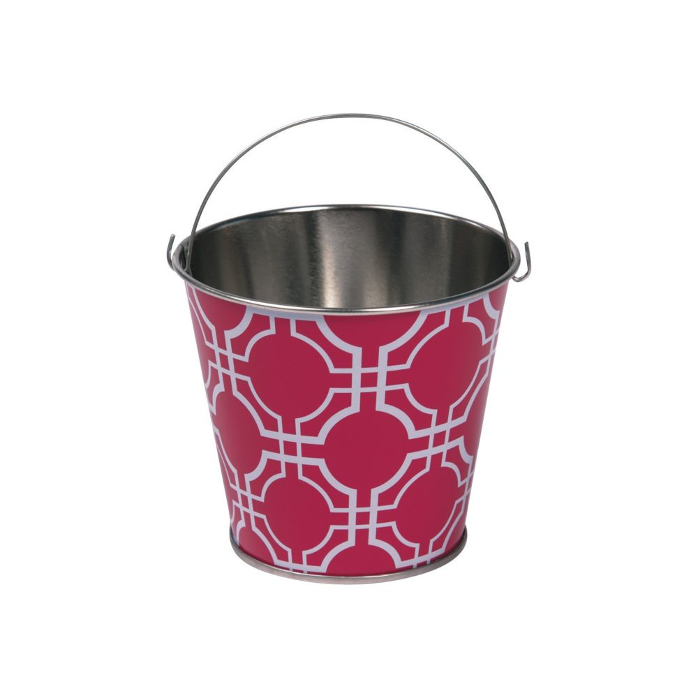 Mod Pink Pails - Party Decorations & Pails & Baskets