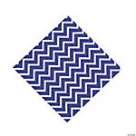 Purple Chevron Luncheon Napkins