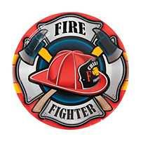 Firefighter Hat Shaped Lollipops
