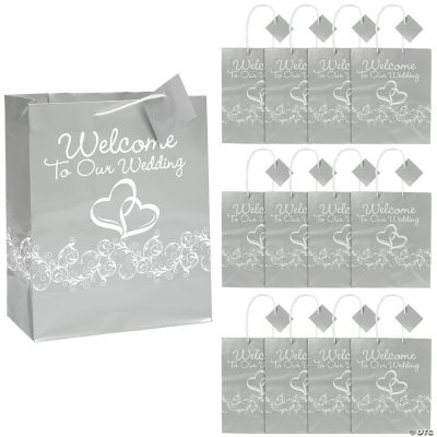 wedding gift bags in 13629839 two hearts welcome to our wedding gift ...