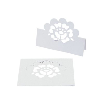 quickview image of lace die cut place cards with sku13629846