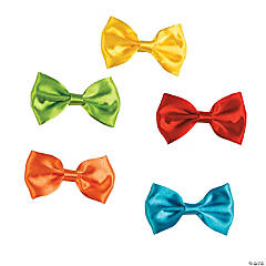 Polyester Clip Bow Ties