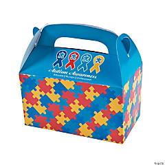 Autism Awareness Treat Boxes
