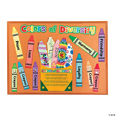 Do It Yourself! Crayons in a Box Bulletin Board Set