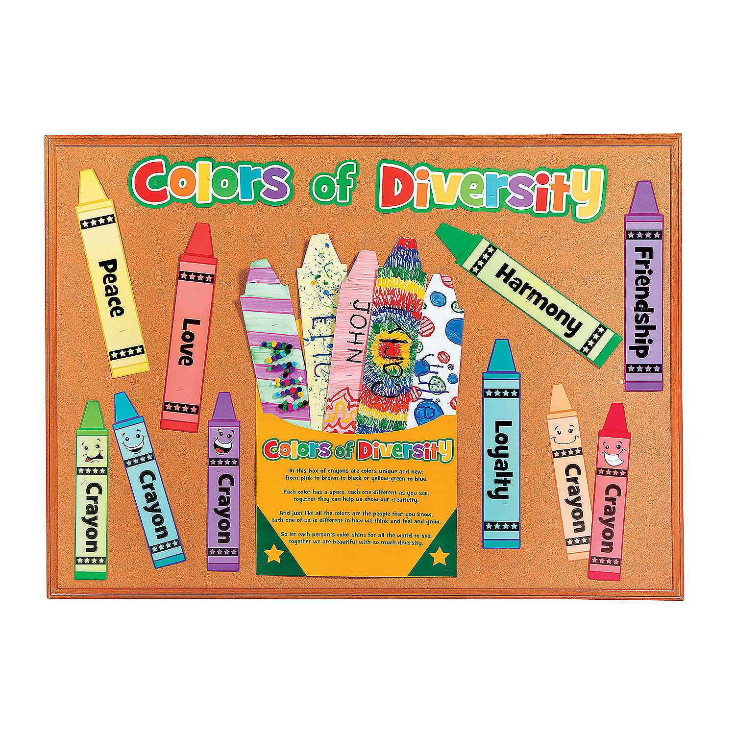 do it yourself crayons in a box bulletin board set