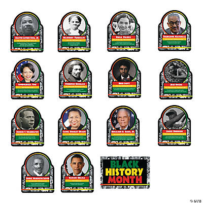 Black History Learning Charts