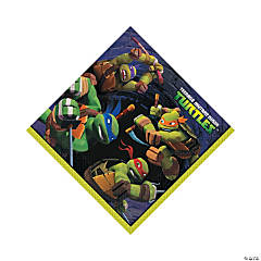 Paper Teenage Mutant Ninja Turtles Luncheon Napkins