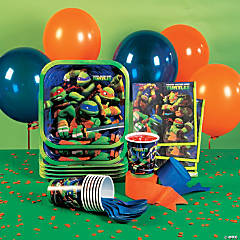 Nickelodeon's™ Teenage Mutant Ninja Turtles Basic Party Pack