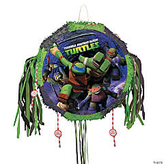Paper Teenage Mutant Ninja Turtles Pull-String Piñata