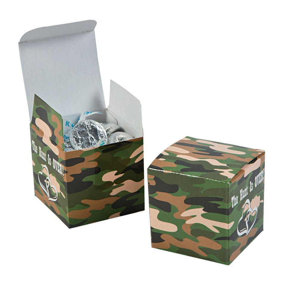 The Hunt Is Over Gift Boxes - Party Bags & Containers & Paper Favor