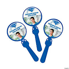 Blue Graduation Custom Photo Clappers