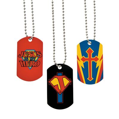 Jesus tag necklaces kis