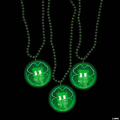 Shamrock Light-Up Necklaces