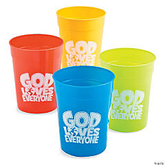 """God Loves Everyone"" Tumblers"