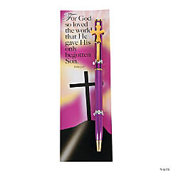 Easter Religious Pen & Bookmark Sets