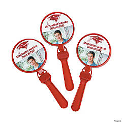 Burgundy Graduation Custom Photo Clappers