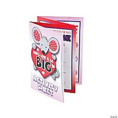 """God's Love Is So Big"" Fold-Up Activity Sheets"