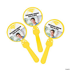 Yellow Graduation Custom Photo Clappers