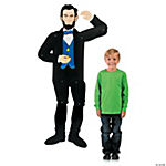 Abraham Lincoln Jointed Cutout