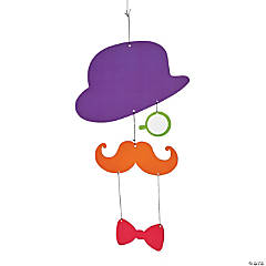 Mustache Hanging Decoration