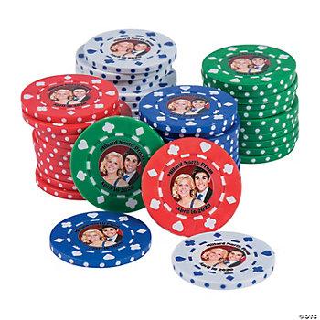 Custom Photo Poker Chips - Oriental Trading