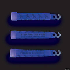 Personalized Awareness Ribbon Glow Sticks