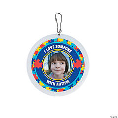 Autism Awareness Custom Photo Charms
