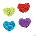 Plush Heart-Shaped Dry Erase Board Erasers