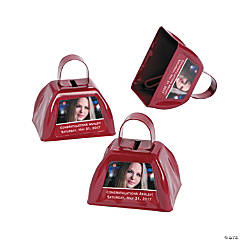 Graduation Custom Photo Cowbells