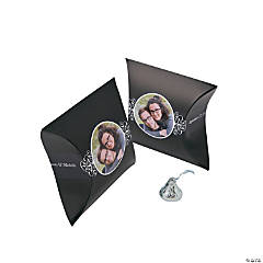 Black Custom Photo Pillow Boxes