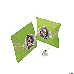 Lime Green Custom Photo Pillow Boxes