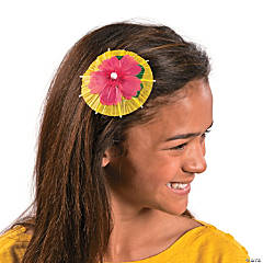 Paper Umbrella Hair Clip Idea