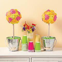 Summer Parasol Topiary Idea
