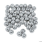 Silver/Grey Pearl Beads - 6mm