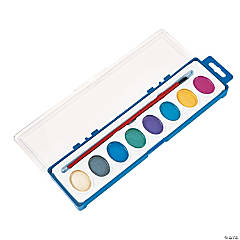 Watercolor Pearlized Paint Trays