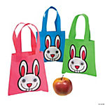 Mini Google Eye Bunny Totes