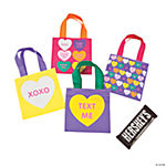 XS Conversation Heart Totes