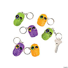 3D Skull Key Chains