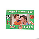 2015 Happy Dad's Day Picture Frame Magnet Craft Kit