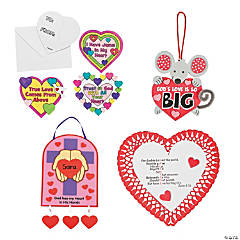 Inspirational Valentine Craft Kit Assortment