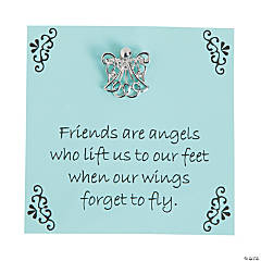 Friendship Angel Pin with Card
