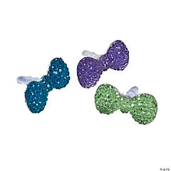 Sparkle Bow Phone Charms