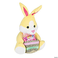 Plush Bunny with Easter Candy